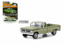 GREENLIGHT HOBBY EXCLUSIVE GOLD METALLIC 1971 FORD F-100 EXPLORER LONG BED