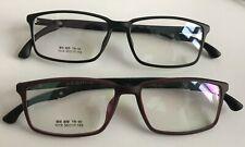 Large Wide Mens TR90 Plastic Frame Light Flexible Rectangle Prescription Glasses