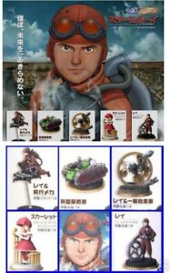 Ensemble 5 Figures Steam Boy Manga Anime Japan Original BANDAI Gashapon