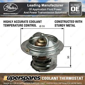 Gates Coolant Thermostat + Gaskets & Seals for Subaru Forester SH SH9 SG SG9