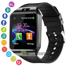 """1.56"""" Bluetooth Smart Watch with Camera Phone Mate Fit For IOS Android Samsung"""