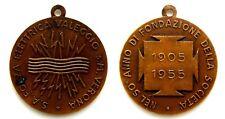 Medaglia S.A. Forza Elettrica Valeggio S.M. Verona 1955 - 50° Anno Di Fondazione