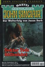JOHN SINCLAIR CLASSICS Nr. 24 - Doktor Tods Höllenfahrt - Jason Dark - NEU