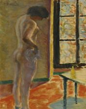 Bonnard Pierre Naked At The Window Canvas 16 x 20 #5456
