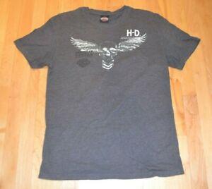 Harley-Davidson Men's S/S Graphic Skull Design T Shirt L