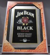 Mirror Jim Beam Black whiskey pub/bar, mancave, home decoration