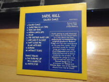 SEALED RARE ADV PROMO Daryl Hall CD Sacred Songs PHIL COLLINS Brian Eno oates !