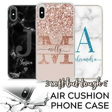 PERSONALISED PHONE CASE INITIALS NAME SHOCKPROOF COVER APPLE IPHONE SE 11 6s 7 8