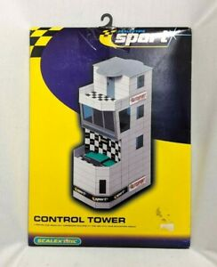 Scalextric Sport CONTROL TOWER Cardboard Building Kit Slot Car Circuit Accessory