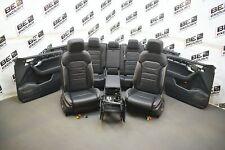 VW Touareg 3 III CR7 Lederausstattung schwarz ergoComfort Leder LEDERSITZE