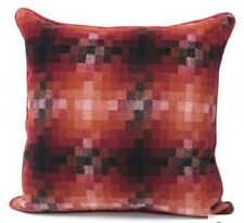 Sunset Red Pixel Cushion Cover - 45cm x 45cm