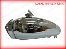 New Royal Enfield Bullet 1950's Chromed Fuel Tank With Tap + Cap