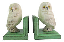 Owl Bookends - Cast Iron Aged Appearance
