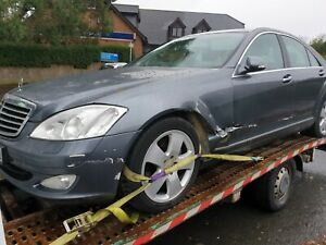 2006 - 09 MERCEDES S CLASS  W221  FRONT BUMPER  COMPLETE Spares or Repair