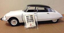 Solido 1963 Citroen DS 19 milk white 1:18 diecast suspension lever loose decals