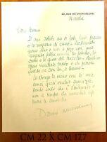 Niccodemi Dario Livorno 1874 - Roma 1934 commediografo lettera autografa