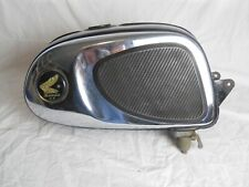 Honda used C110, CA110, Super Cub 50cc, Gas / Fuel Tank, with badges.   (RG)