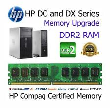 4GB Kit DDR2 Memory Upgrade RAM HP Compaq dc5800 Tower Non-ECC PC2-6400 800MHz