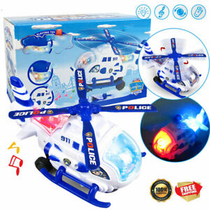 Toys For Kids Electric Airplane Gift LED Light Boys 2 3 4 5 6 year Old Cool gift