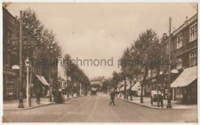 High Road Looking West Chiswick, London Postcard B778