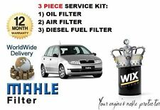 SKODA FABIA 1.9 SDI 2000> NEW 3 KIT MANUTENZIONE FILTRO olio carburante ARIA Set
