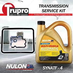 SYNATF Transmission Oil + Filter Service Kit for Alfa Romeo 75 2000 Alfetta GTV