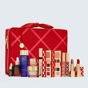 Estee Lauder 29 Beauty Essentials FULL-SIZE SERUM (RRP $700+) with COSMETICS BAG
