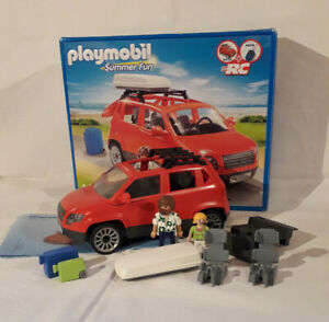 PLAYMOBIL 5436 Summer Fan Familienauto - Gebraucht, mit OVP