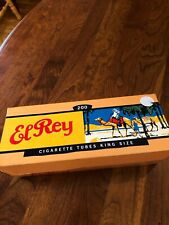 ElRey Cigarette Tubes King Size with Filter