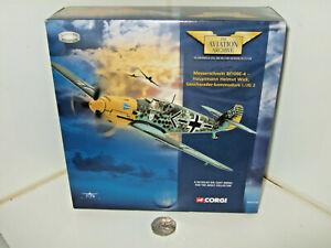 Corgi AA32102 Hauptmann Helmut Wicks Messerschmitt Bf109E-4  in 1:72 Scale