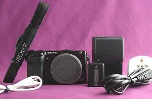 Sony Alpha NEX-7 24.3MP Digital Camera - Black (Body Only) *1115 Shutter*  2156A