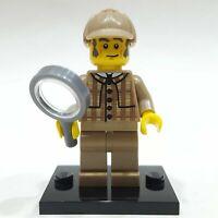Genuine Lego Detective Minifigure (Used - Series 5 - COL075) 8805