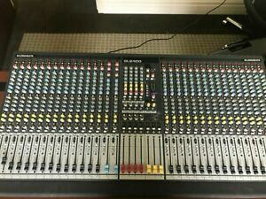 Allen and Heath GL 2400-32 Analog Audio Mixing Console With Road Case Excellent