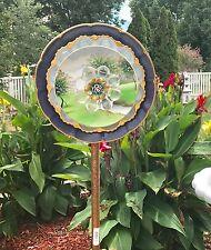 New listing Vintage Glass, Ceramic and Porcelain Flower Yard Art