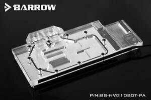 Barrow NVIDIA GTX 1080/1070 (Ti), Titan X Pascal LRC 2.0 RGB Waterblock