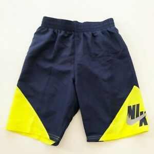 Nike Boys Swim Trunks Built in Mesh M-XL Colorblock, Volley U Pick Sz & Pattern