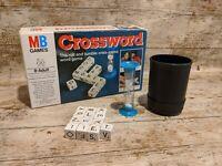 Vintage Crossword Game  - MB Games  - Complete