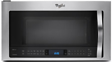 Whirlpool Wmh73521Cs 2.1 cu. ft. Over-the-Range Microwave w Steam/Sensor Cooking