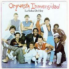 SALSA rare FANIA remastered CD W/BOOKLET Orquesta Inmensidad LA SALSA DE HOY