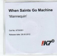 (DC332) When Saints Go Machine, Mannequin - 2012 DJ CD