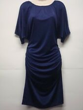 NWT Calvin Klein Blue Cling Dress Size XS Nice!!