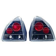 Paar Scheinwerfer Rücklichter Tuning honda prelude 1992 -> 1996 Schwarze Lexus