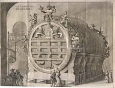 1702 La botte di Heidelberg   bulino