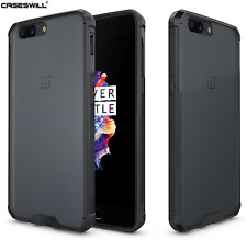 For OnePlus 5 Case Crystal Clear Hard Back TPU Bumper Hybrid Protector Cover