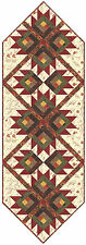 Maple Island Table Runner Quilt Kit - Pattern + Moda Fabric Holly Taylor