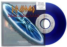 "NM! DEF LEPPARD HAVE YOU EVER NEEDED SOMEONE SO BAD BLUE COLOURED 7"" VINYL 45"