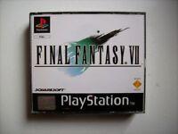 Final Fantasy VII 7 FF7 PS1 Playstation 1