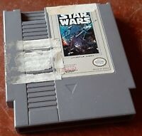 Nintendo Star Wars NES loose game cart, cleaned & tested, authentic