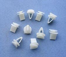 (2197) 10x rivestimento clip staffe di montaggio klips supporto clip universale bianco