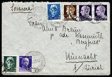 """1929 - Lettera per la Svizzera con affrancatura multipla """"Imperiale"""""""